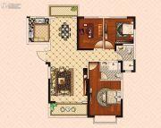 南昌恒大御景(原恒大帝景)3室2厅2卫116--125平方米户型图