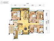 碧桂园・天玺湾5室2厅3卫231--249平方米户型图