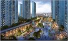 同价位楼盘:TOD国际新城效果图
