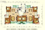 水润东都3室2厅2卫129--132平方米户型图