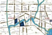蜀鑫海河上院交通图