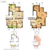 宏泰风花树5室2厅3卫169平方米户型图