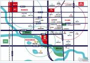 建业・新城半岛交通图