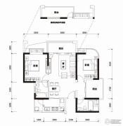勤诚达22世纪2室2厅1卫0平方米户型图