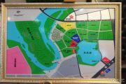 荣盛龙湖半岛沙盘图
