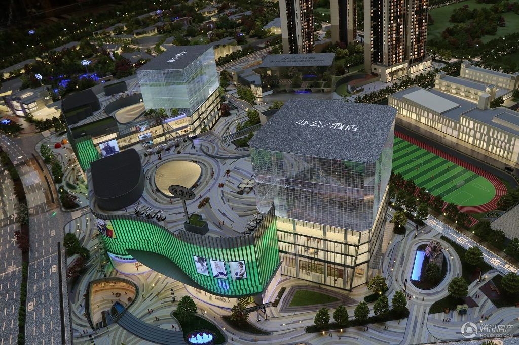佳兆业城市广场5期沙盘图