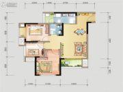 金融街金悦熙城1室2厅1卫0平方米户型图