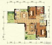 中建宜城春晓3室2厅2卫113平方米户型图