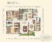 九锦台5室4厅5卫422平方米户型图