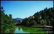 枕泉翠谷国际旅游养生度假区实景图