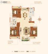 内乡建业森林半岛3室2厅2卫0平方米户型图
