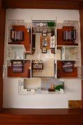 怡泰雅苑4室2厅2卫140平方米户型图