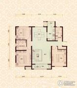 怡水公馆3室2厅2卫0平方米户型图