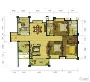 珑翠3室2厅2卫110--140平方米户型图