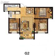 美麟・常青藤3室2厅2卫127平方米户型图