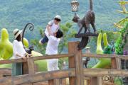 大沙河仡佬文化国际旅游度假区外景图