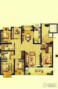 荣记玖珑湾5室2厅2卫198平方米户型图