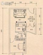 联冠广场1室1厅1卫0平方米户型图