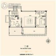 花都颐和山庄2室1厅3卫188平方米户型图