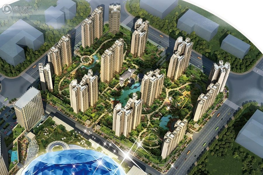鹤山新华城规划图