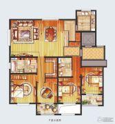 朗诗绿色街区3室2厅2卫183平方米户型图