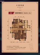 天都城・天熙公馆5室2厅3卫0平方米户型图