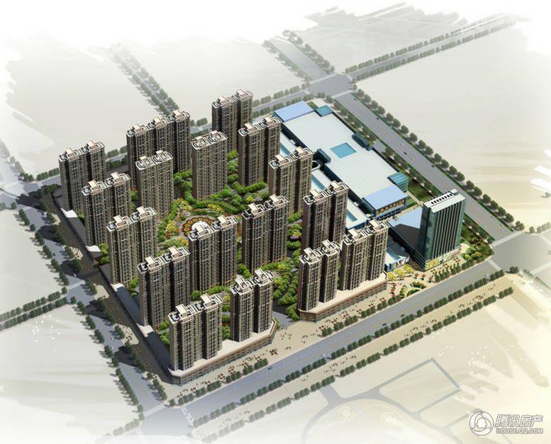 义乌城效果图