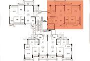 君汇尚品3室2厅2卫117平方米户型图