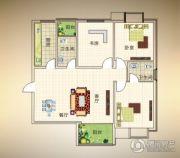 浠水十月商贸城3室2厅2卫121平方米户型图