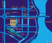 京仕佰公馆交通图