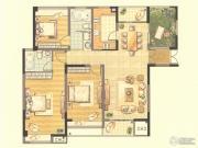 第九园3室2厅2卫136--139平方米户型图