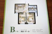 康城三期2室1厅1卫0平方米户型图
