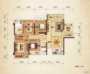 路桥锦绣国际4室2厅2卫118平方米户型图