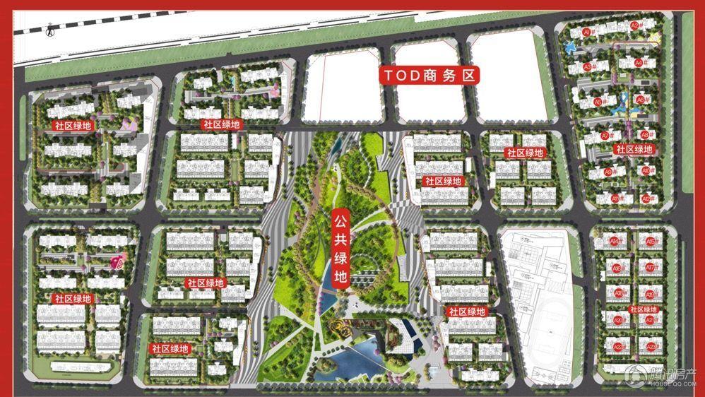 万科理想城规划图