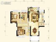 耀江・西岸公馆3室2厅1卫107平方米户型图