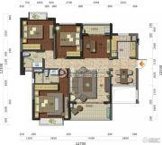 中珠・在水一方3室2厅2卫129平方米户型图