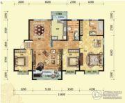 荷塘月色2室1厅1卫87平方米户型图