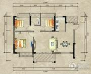 德洲城1室1厅1卫0平方米户型图