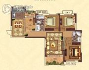 亚坤・帝景豪庭4室2厅2卫121平方米户型图