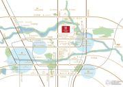 金隅上城郡交通图