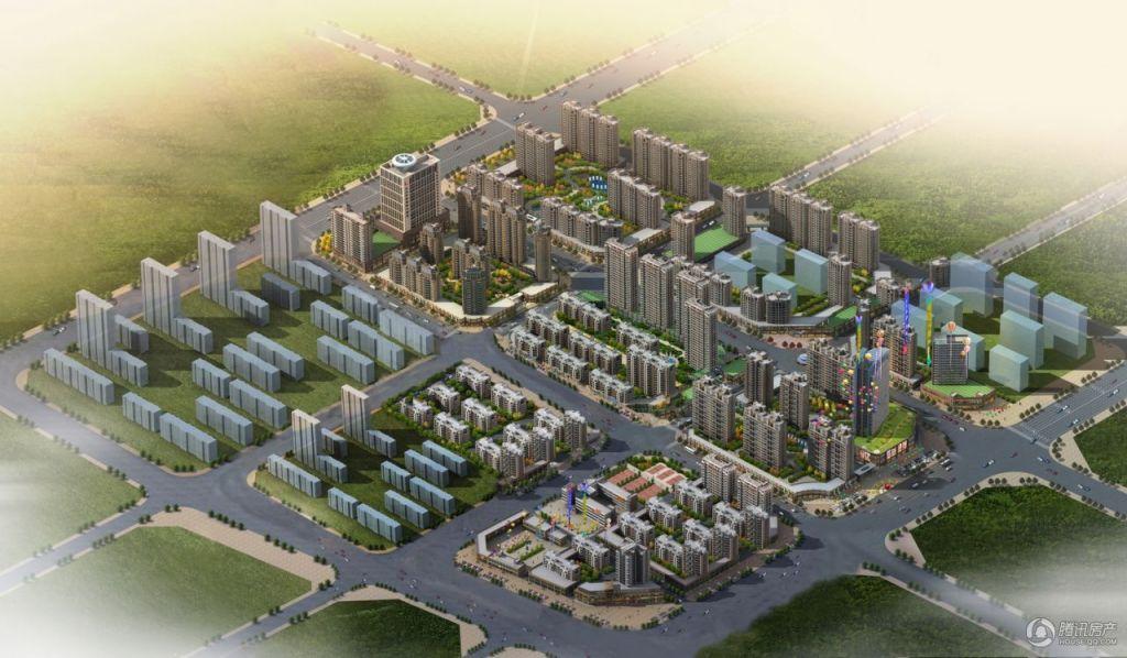 北京院子鸟瞰图