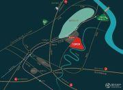 鲁能北渝星城交通图