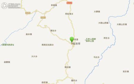 临沧地图高清版大图