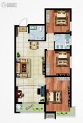 永邦天汇3室2厅1卫113平方米户型图