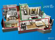 台山碧桂园3室2厅2卫139平方米户型图