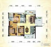 冠亚・国际星城2室2厅2卫109平方米户型图