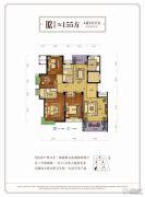 大都尚澜4室2厅2卫0平方米户型图