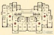 恒大城3室2厅1卫0平方米户型图