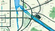 保利林语溪交通图