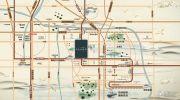 康桥林语镇交通图